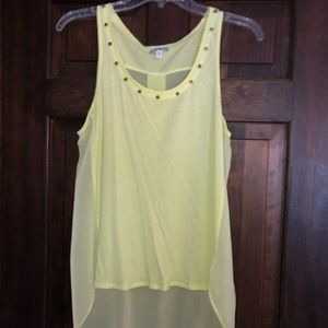 Express tank with sheer back